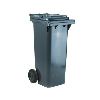 2 Wheel Grey Refuse Container 120 Litre 33