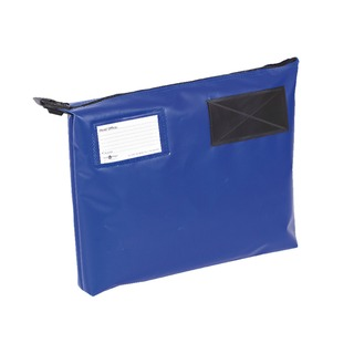 Secure Blue 381x336x76mm Mail Pouch GP1B H852