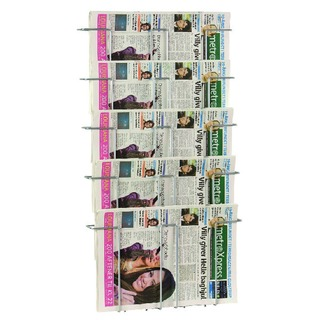 A3 5 Compartment Literature Holder TW