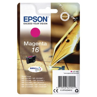 16 Magenta Inkjet Cartridge C13T1623401