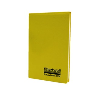 Weather-Resistant Survey Field Book 130x205mm Yellow 2006