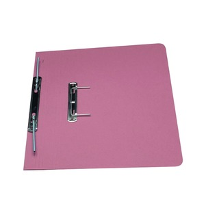Pink Foolscap Heavyweight Spiral File (25 Pack) 211/7