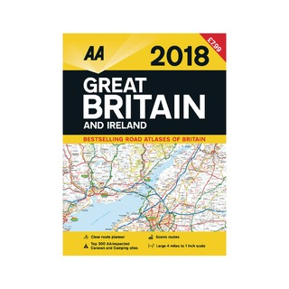 Road Atlas Great Britain and Ireland 97807495786