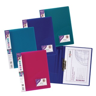 Clamp Binder Electra Assorted A4 (10 Pack) 1279