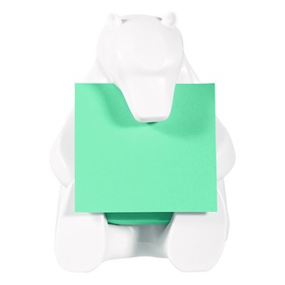Post-it Z-Note Dispenser Bear Design inc (1 Pack) Post-it Super Sticky Z-Notes 76 x 76mm BEAR-