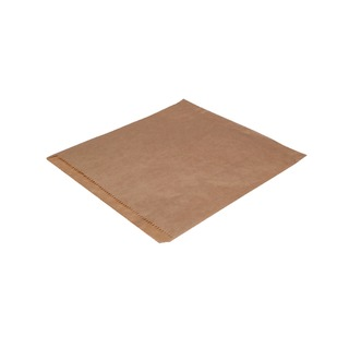Dependable Ribbed Kraft Bags Strung 215x215mm Brown (1000 Pack) 201203S
