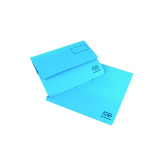 Strongline Foolscap Blue Document Wallet (25 Pack) 10009014