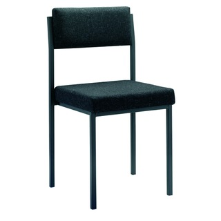 Charcoal Multi-Purpose Stacking Chair