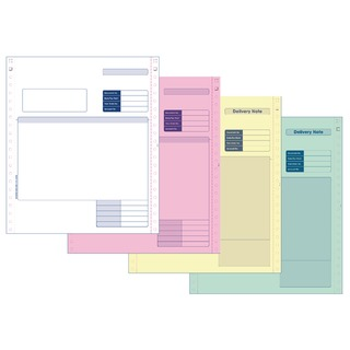 Custom Forms Sage Invoice/Delivery Note (500 Pack) SE04