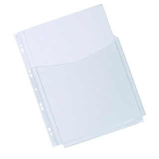 A4 3/4 Cover Expanding Punched Pocket (5 Pack)