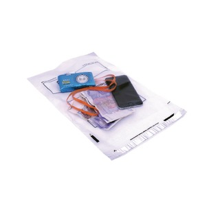 Secure Extra Strong Polythene Envelope 240 x 320mm Clear (100 Pack)