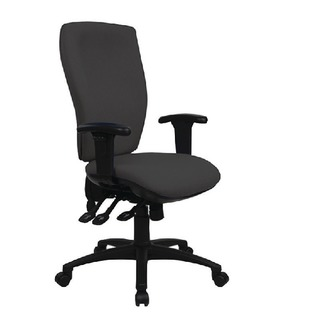 Deluxe Square High Back Posture Chair Black