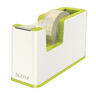 WOW Tape Dispenser White/Green 53641064