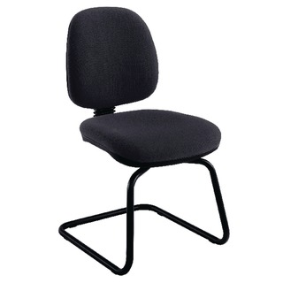 Charcoal Medium Back Visitor Chair