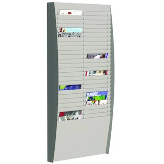 A4 Document Control Panel 50 Compartments Grey V225.02