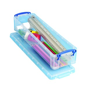 Clear 1.5 Litre Pencil/Stationery Box 1.5C