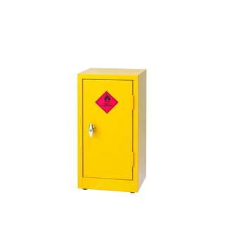 Yellow Hazardous Substance Storage Cabinet 712mm 188