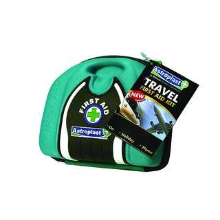 Compact Travel Pouch First Aid Kit Green 1015017