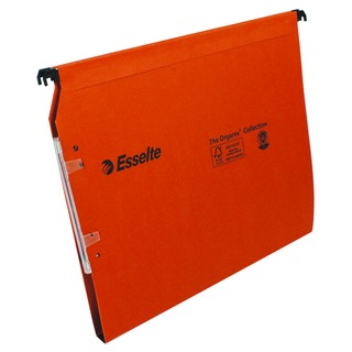 Esselte Orgarex Orange Lateral A4 File 15mm (25 Pack)