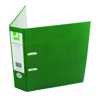 Green A4 Paperbacked Lever Arch File (10 Pack)