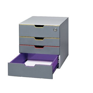 Varicolor 4 Drawer Box 7606