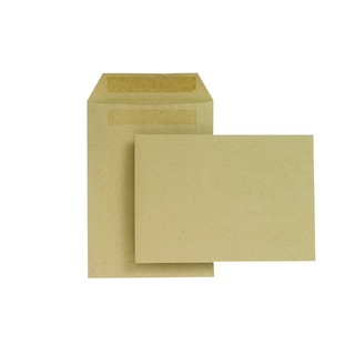 C5 Envelope 229 x 162mm 80gsm Manilla Self Seal (500 Pack)