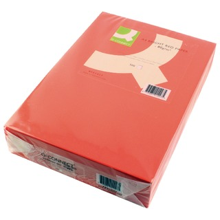 Bright Red Copier A4 Paper 80gsm (500 Pack)