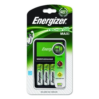 Maxi Battery Charger 4x AA Batteries 1300 mAh UK 633151