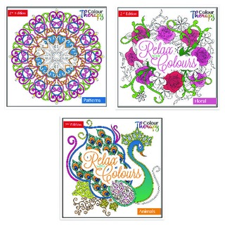 Adult Colouring Book Series 2 (12 Pack)