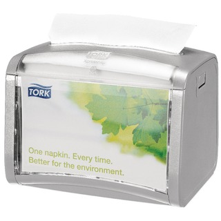 Tork Silver Xpressnap Tabletop Napkin Dispenser 27261