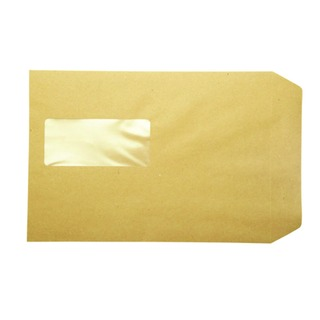 Pocket C5 Window Envelope 115gsm Manilla Peel and Seal (500 Pack)