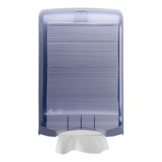 Large Blue M Fold Hand Towel Dispenser 750 Sheet Capacity DSHA03
