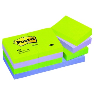 Post-it 38x51mm Dream Colours Notes (12 Pack) 653MT