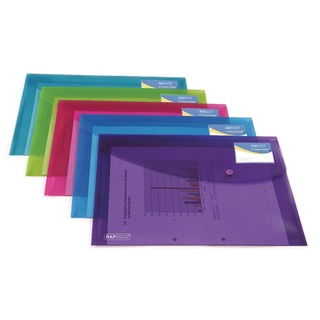 ID Popper Wallet Translucent Assorted (5 Pack)