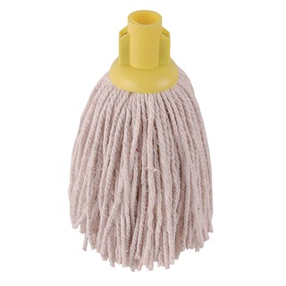 12oz PY Smooth Socket Mop Yellow (10 Pack) 101869