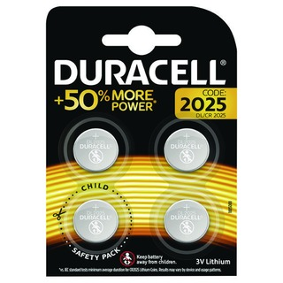 2025 Lithium Coin Battery Pack of 4 ECR2035