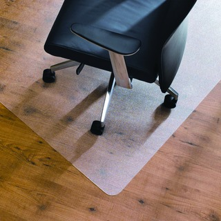 Clear 1200x750mm Economy Hard Floor Chairmat