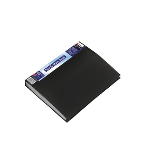 See and Store A4 Display Book 20 Pocket Black