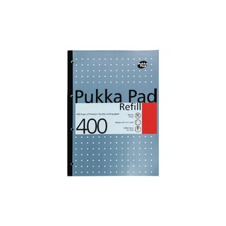 Refill Pad A4 4 Hole Punched Feint Ruled and Margin 400 Pages (5 Pack) REF4