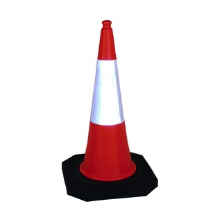 2 Part Traffic Cone 1000mm 398