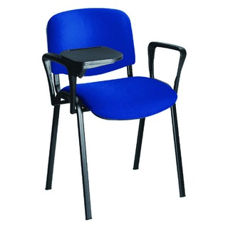 Black Chair Arm And Writing Tablet