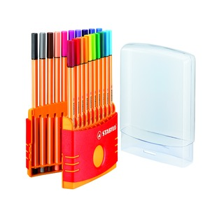 point 88 Assorted Fineliner Pens ColorParade (20 Pack) 8820-0