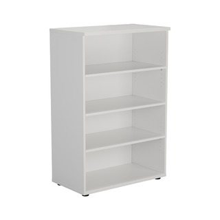 1200mm Bookcase White