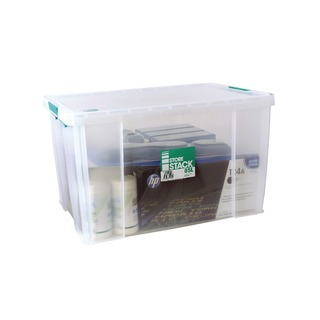 85 Litre Clear W660xD440xH390mm Store Box