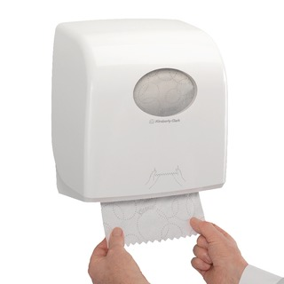 Rolled Hand Towel Dispenser White 73