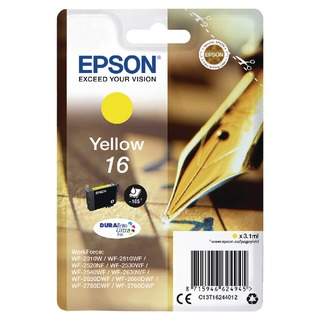 16 Yellow Inkjet Cartridge C13T1624401