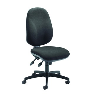 Concept High Back Maxi Tilt Operator Charcoal Chair