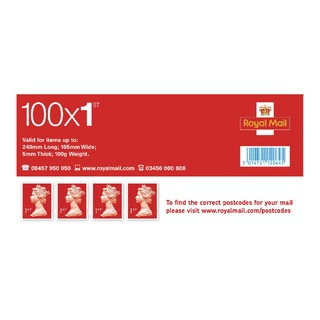 First Class Postage Stamps (100 Pack) SDN