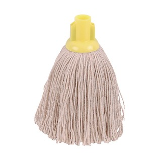 12oz Twine Rough Socket Mop Yellow (10 Pack) PJTY1210I