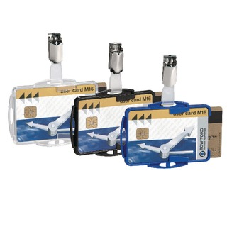Dual Security Pass Holders (25 Pack) 8218/19